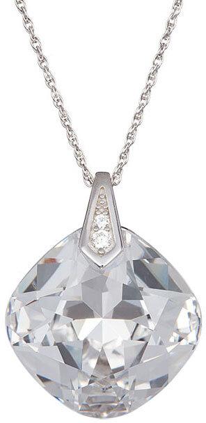Preciosa Náhrdelník s čirým krystalem Brilliant Rose 6011 00