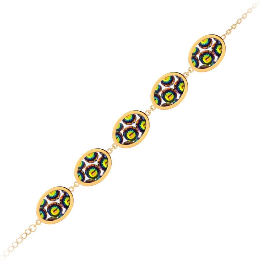 Preciosa Oboustranný náramek s třpytivými krystaly Idared 7363Y41