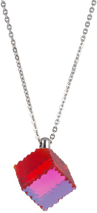 Preciosa Ocelový náhrdelník s červeným krystalem Jaclyn 7262 57 - Šperky Náhrdelníky