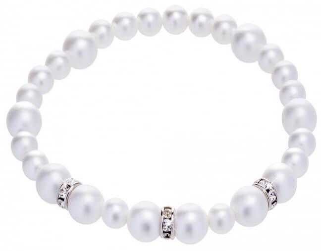 Preciosa Perličkový náramek Silky Pearl 2270 01
