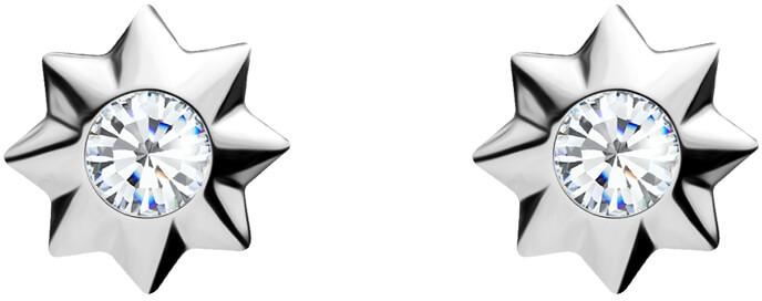 Preciosa Roztomilé stříbrné náušnice Orion 5249 00