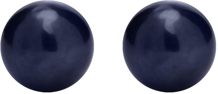 Preciosa Stříbrné náušnice pecky s pravou perlou Paolina 5307 20