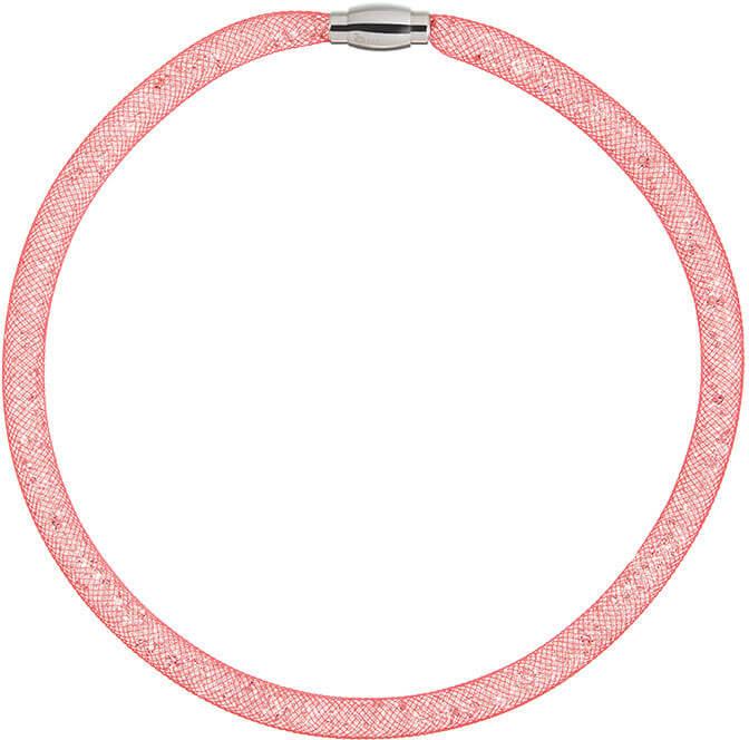 Preciosa Třpytivý náhrdelník Scarlette červený 7250 57 - Šperky Náhrdelníky