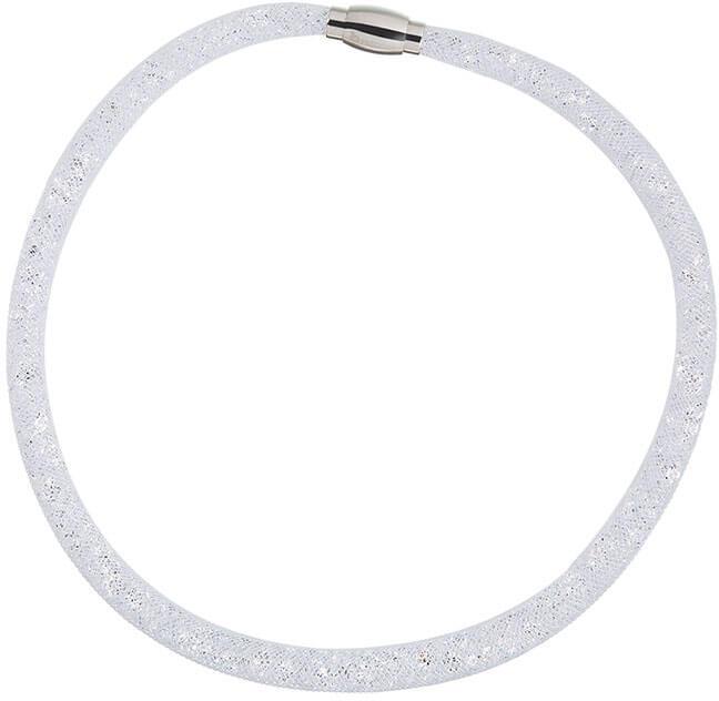 Preciosa Třpytivý náhrdelník Scarlette čirý 7250 00 - Šperky Náhrdelníky