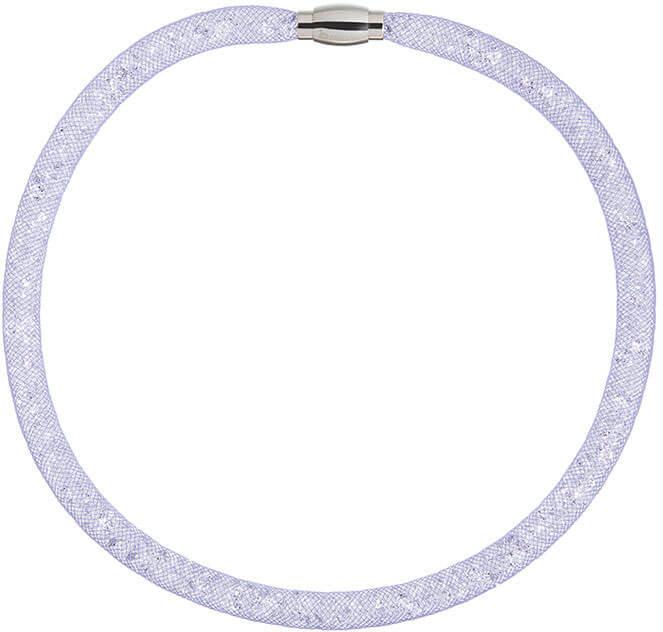 Preciosa Třpytivý náhrdelník Scarlette fialový 7250 56 - Šperky Náhrdelníky