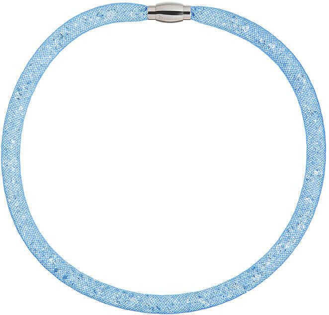 Preciosa Třpytivý náhrdelník Scarlette modrý 7250 58 - Šperky Náhrdelníky