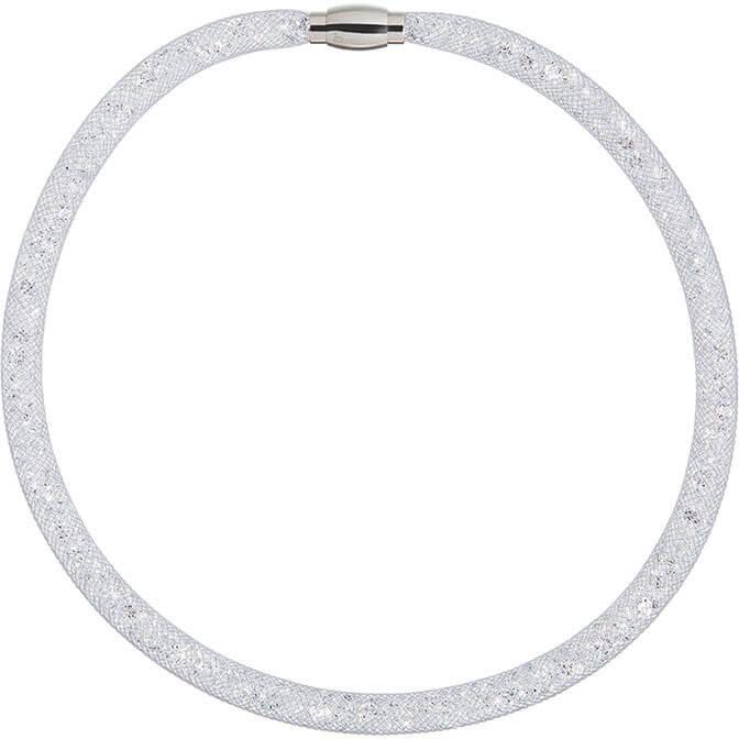 Preciosa Třpytivý náhrdelník Scarlette šedý 7250 19 - Šperky Náhrdelníky