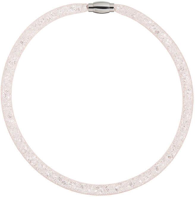 Preciosa Třpytivý náhrdelník Scarlette světle broskvový 7250 49
