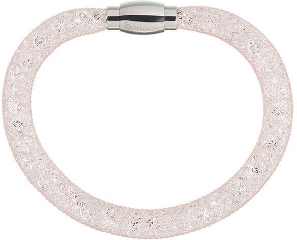 Preciosa Třpytivý náramek Scarlette světle broskvový 7251 49 - Šperky Náramky