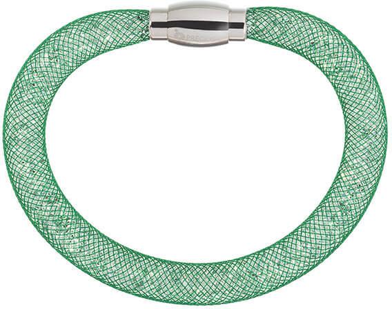 Preciosa Třpytivý náramek Scarlette zelený 7251 66