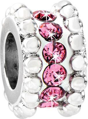 Morellato Ocelový přívěsek Drops Delicate Pink SCZ546 - Šperky Přívěsky