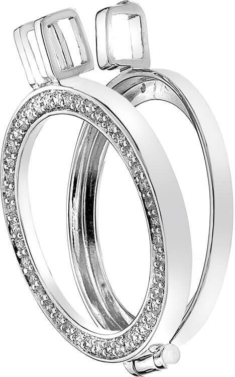 Hot Diamonds Přívěsek Emozioni Reversible Coin Keeper DP486-DP487 33 mm