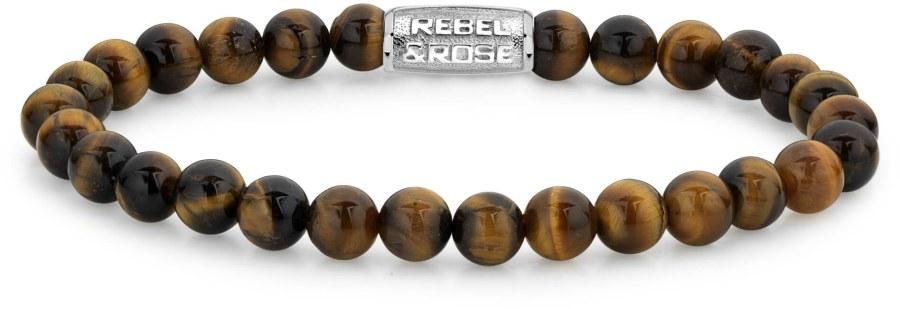 Rebel a Rose Korálkový náramek Tiger Lily RR-60014-S 15 cm - XS