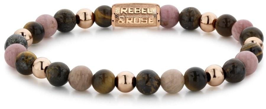 Rebel a Rose Korálkový náramek Warm Winter Wishes RR-60059-R 16,5 cm - S