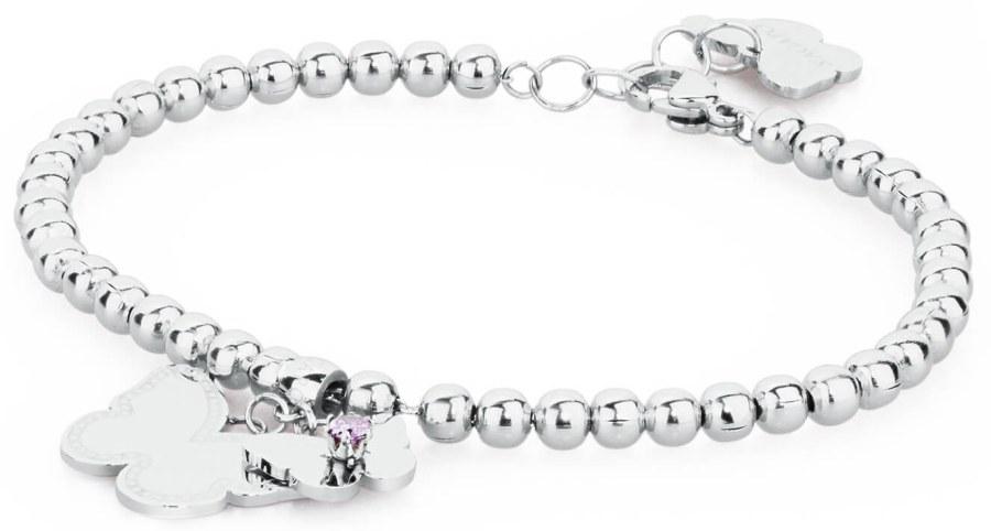S`Agapõ Romantický náramek s motýlky Dorothy SDO12 - Šperky Náramky