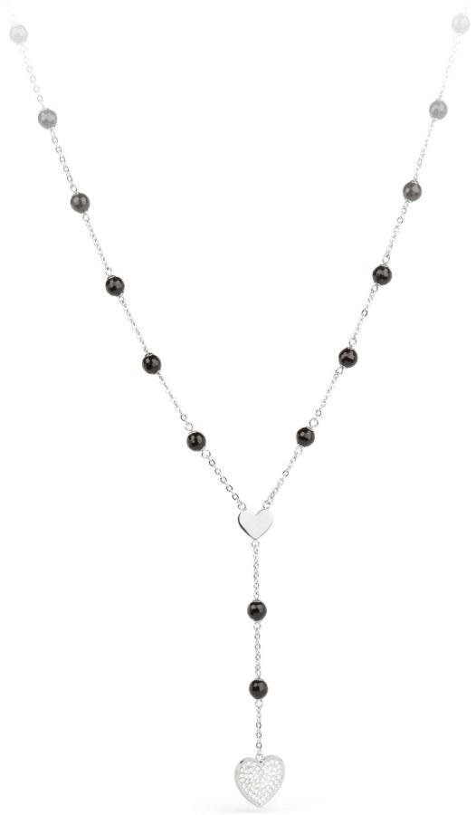 S`Agapõ Srdíčkový náhrdelník Faith SFH01 - Šperky Náhrdelníky