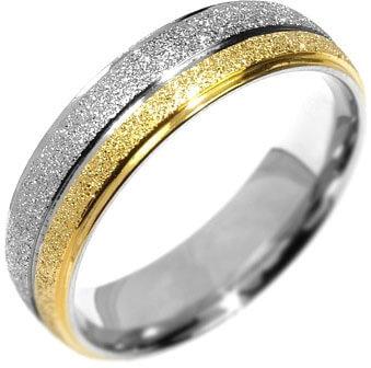 Silvego Snubní ocelový prsten Flers RRC0365 60 mm