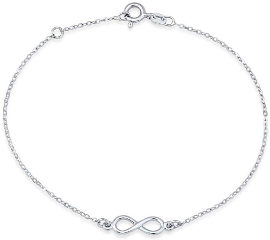 Silvego Stříbrný náramek Nekonečno SMJB024EE5 - Šperky Náramky