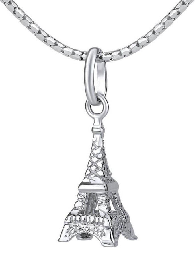 Silvego Stříbrný přívěsek Eiffelova věž ZTJP43502