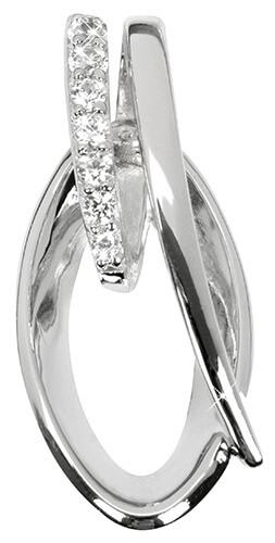 Silver Cat Stříbrný přívěsek s krystaly SC161