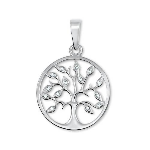 Brilio Silver Stříbrný přívěsek Strom života 446 001 00344 04