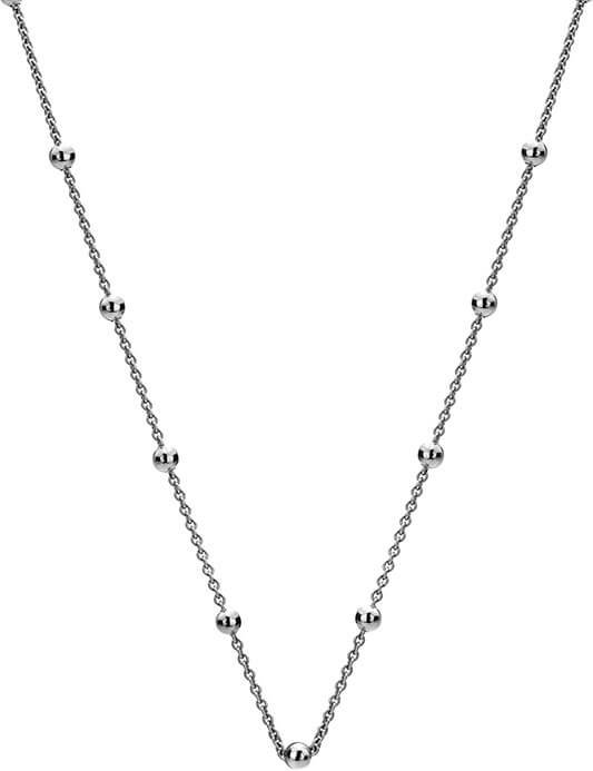 Hot Diamonds Stříbrný řetízek Emozioni Silver Cable with Ball Chain CH002