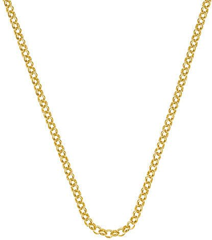 Hot Diamonds Stříbrný řetízek Emozioni Yellow Gold Belcher Chain 18 CH010