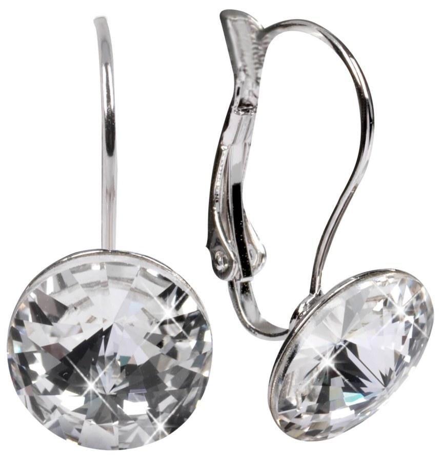 Troli Náušnice Rivoli 12 mm Crystal - Šperky Náušnice
