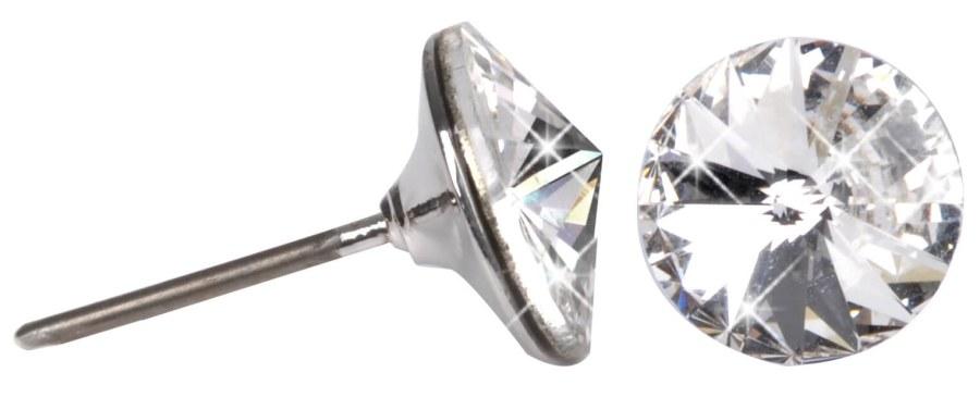 Troli Náušnice Rivoli 8 mm Crystal - Šperky Náušnice