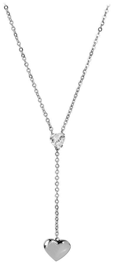 Troli Zamilovaný ocelový náhrdelník