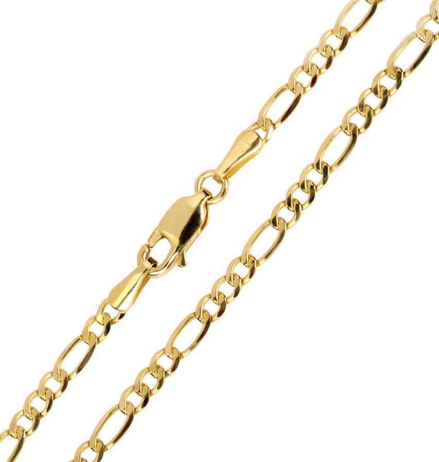 Brilio Zlatý pánský náramek 21 cm 261 115 00295
