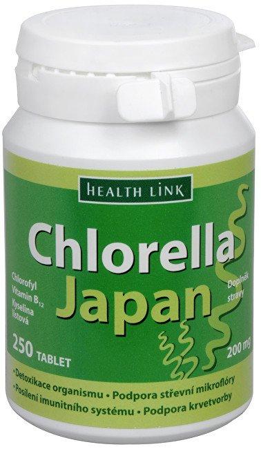Heath Link Chlorella Japan 250 tbl.
