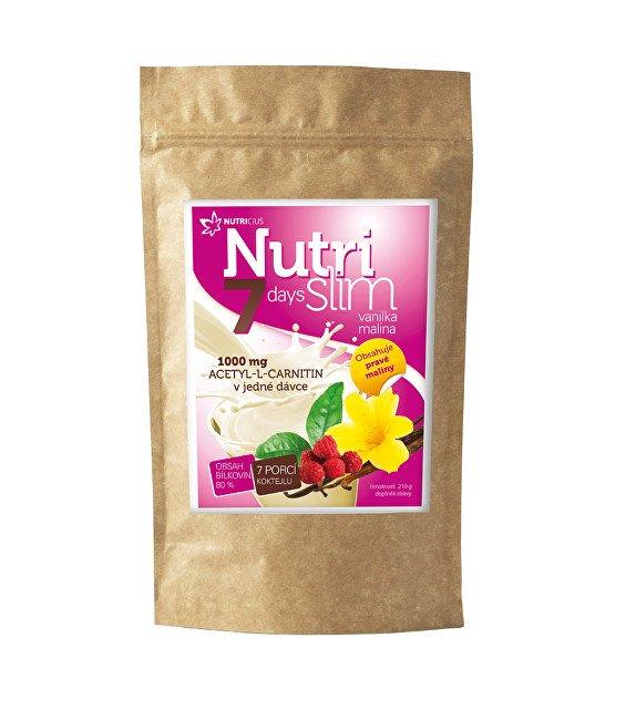 Nutricius NutriSlim Vanilka – Malina 210 g