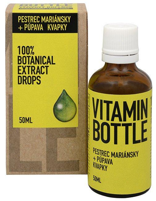 Vitamin Bottle Ostropestřec mariánský + pampeliška 50 ml