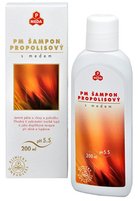 Purus Meda PM Šampon propolisový s medem 200 ml