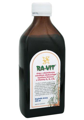 Biomedica Ra-vit rakytníkový sirup 250 ml