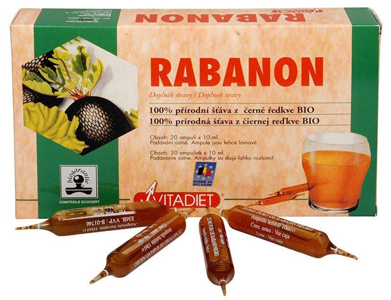 Rabanon Vitadiet extrakt z černé ředkve 20x10 ml