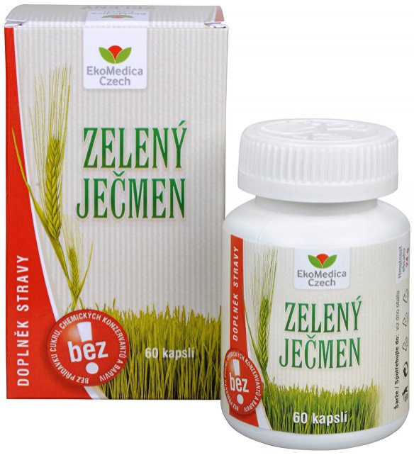 EkoMedica Czech Zelený ječmen 60 kapslí